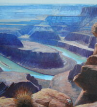 Dead Horse Point                                                                           14 x 18″ original oil on stretched canvas