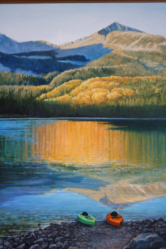 Lost Lake      14 x 18″  original oil only available